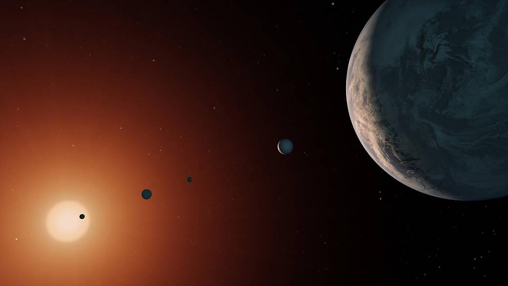 De ar som stjarnor fran skilda planeter