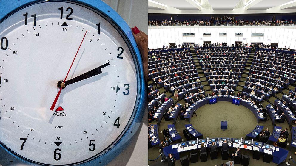 I EU-parlamentet i Strasbourg ska frågan om sommartidens vara eller icke-vara diskuteras.