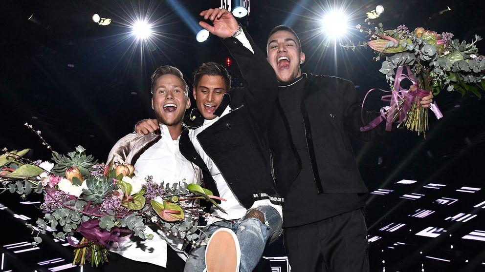 Samir & Victor samt Liamoo gick direkt vidare till finalen under Melodifestivalens andra deltävling i Scandinavium på lördagen