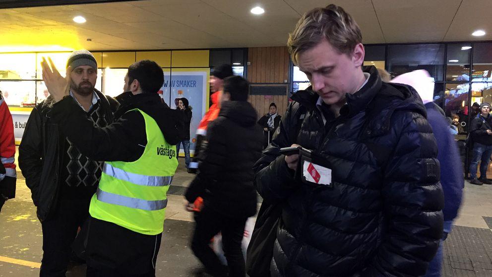 Stopp i tågtrafiken på Göteborgs centralstation.