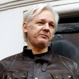 Julian Assange på Ecuadors ambassad