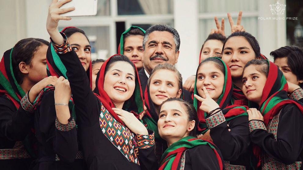 Ahmad Sarmast är grundare till Afghanistans nationella musikinstitut.