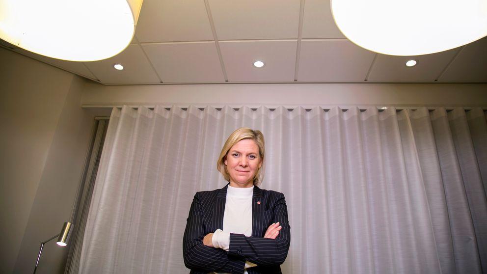 Finansminister Magdalena Andersson (S.