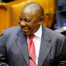 Cyril Ramaphosa, vald till ny president i Sydafrika.