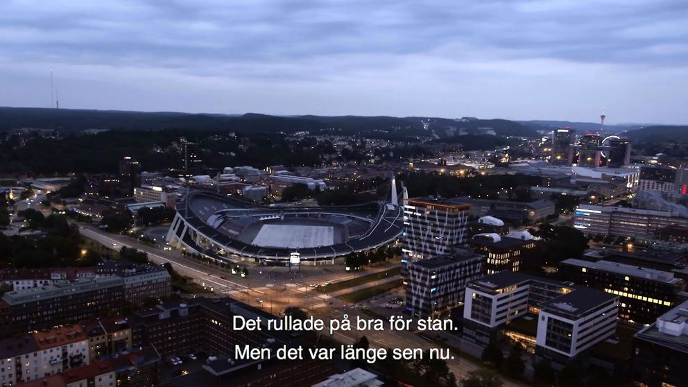 Moderaterna i Göteborg rörde upp känslor med en film som de laddade upp på Facebook.
