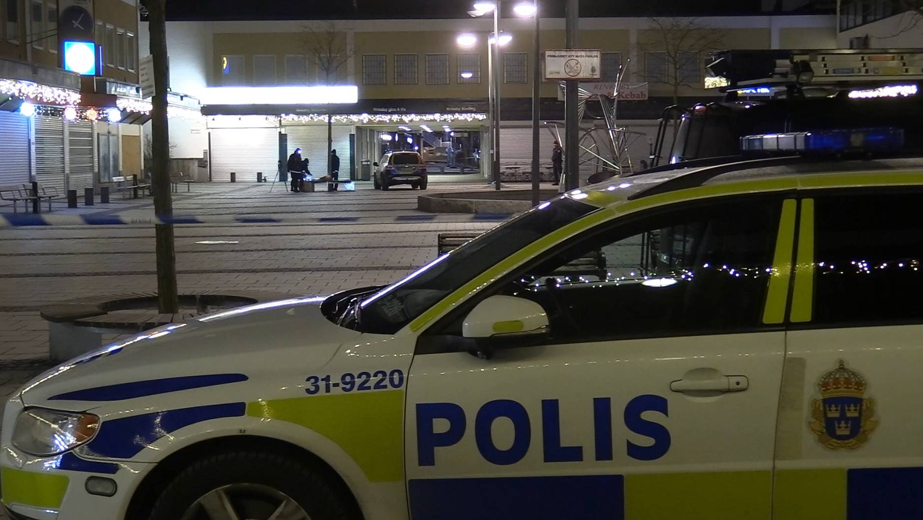 Drog kniv polis skot varningskott