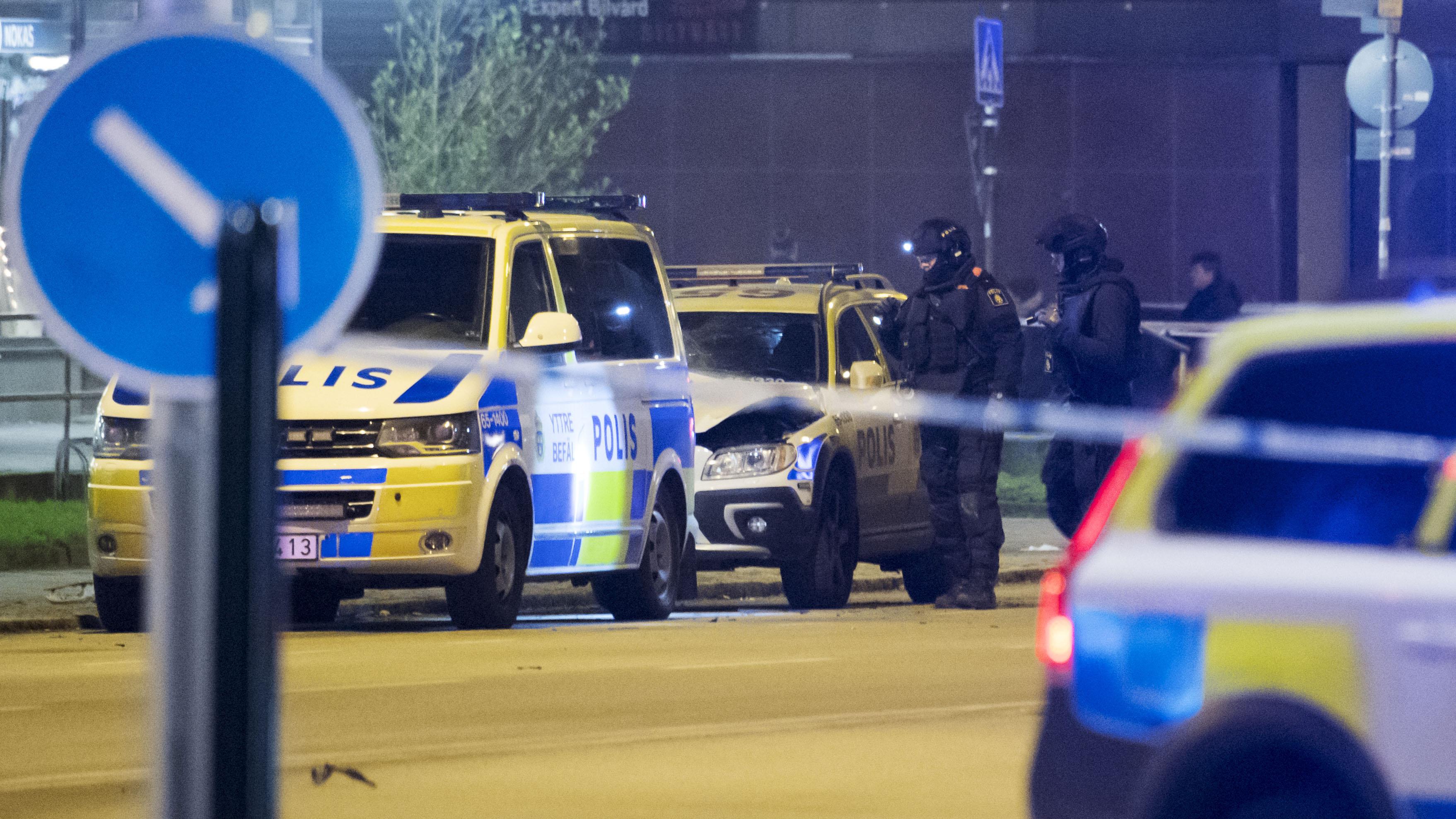 Bildbevis kan finnas for polisbilsexplosion i malmo