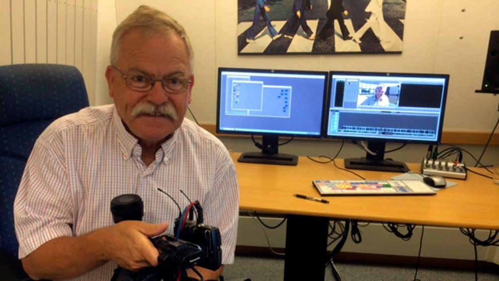 Efter 21 år som ensamredaktör i Blekinge fick Peter Kullring kollegor när SVT beslutade att ge Blekinge ett eget nyhetsprogram.