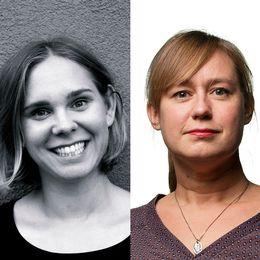 Från vänster: matskribenterna Lina Dahl (Malmö), Sara Berndtsson (Göteborg) och Lina Peters (Stockholm).