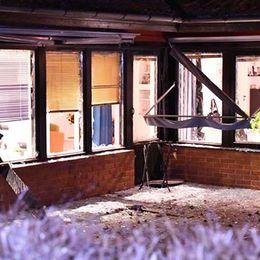 Explosion vid radhus i Staffanstorp