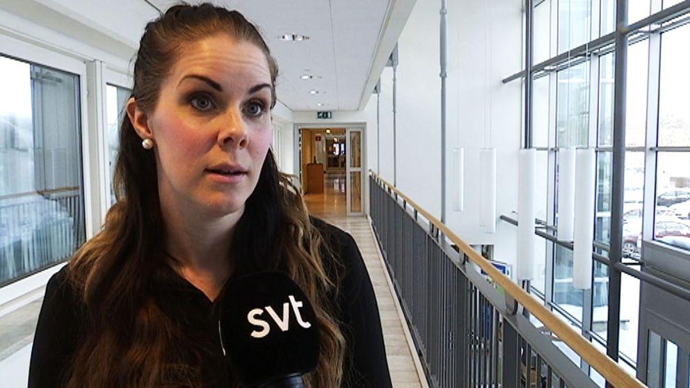 Ida Jonsson, projektledare vid Suecidprevention för barn- och unga vid Region Norrbotten.