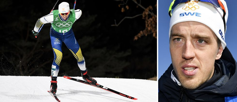 Calle Halfvarsson var otroligt besviken efter fjärdeplatsen i stafetten och var redo att lämna OS, nu verkar han ha ändrat sig.