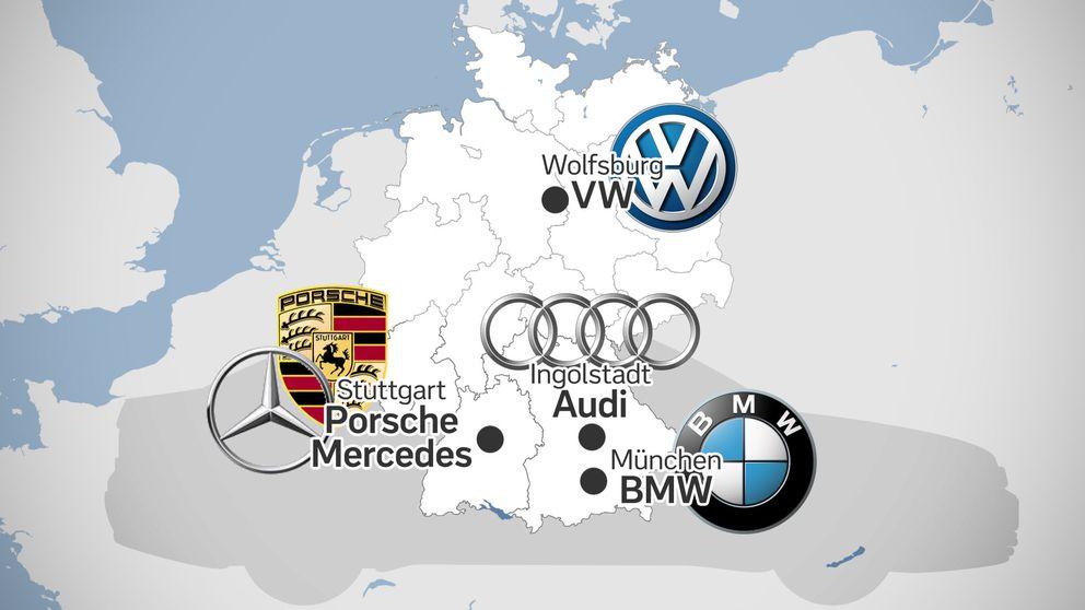 Den tyska bilindustrin sysselsätter 1,5 miljoner människor.