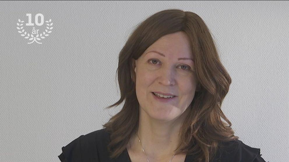 Reporten Jenny Lindeborg