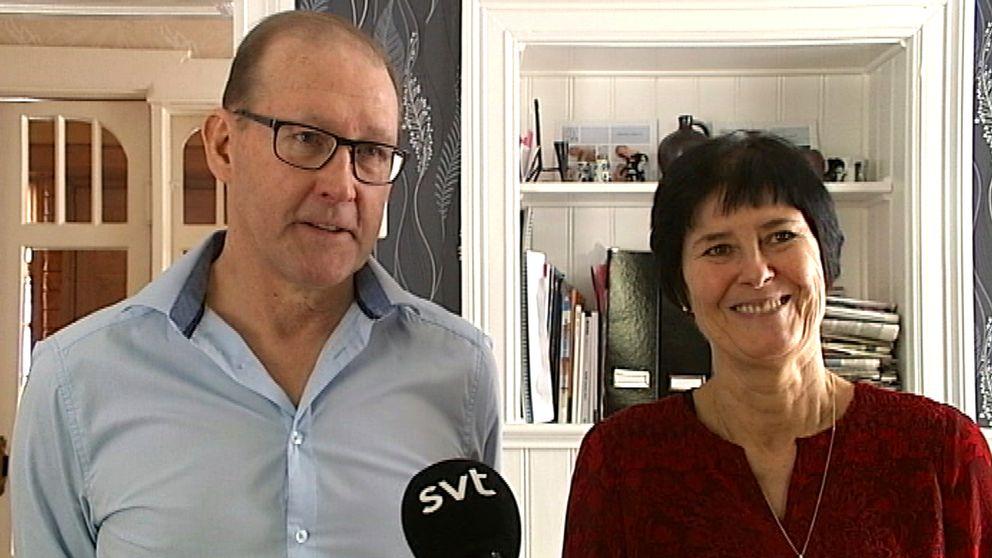 Thorbjörn och Christina Myhrer, föräldrar till André Myhrer