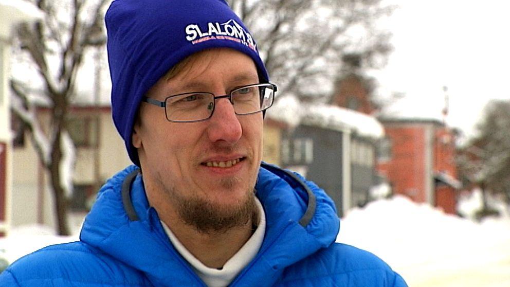 Peter Eng, ordförande och ungdomstränare i Bergsjö-Hassela alpina klubb