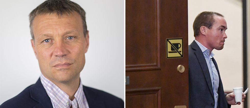 SVT:s politikreporter Pontus Mattson om petningen av SD:s Kent Ekeroth