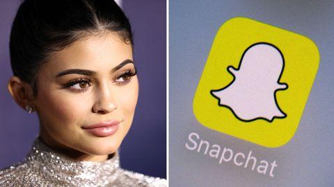 Snapchat-aktien föll med 6,1 procent efter Kylie Jenners syrliga tweet.