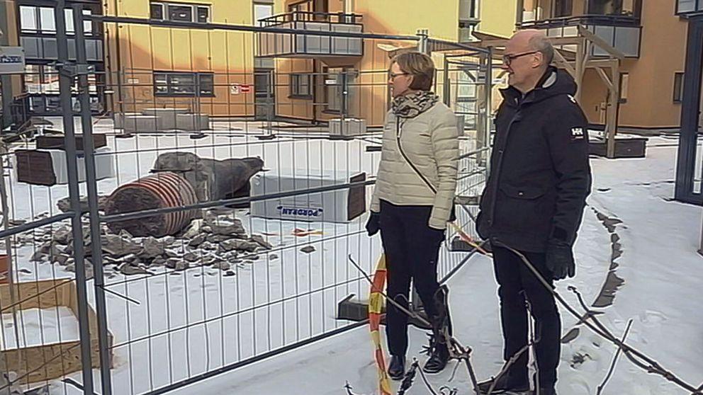 Ewa och Lars Ekman är inte oroliga.
