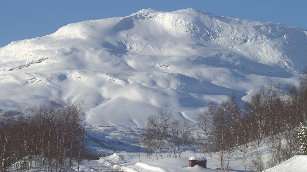 En vacker och kall dag i Rönäs, Hemavan