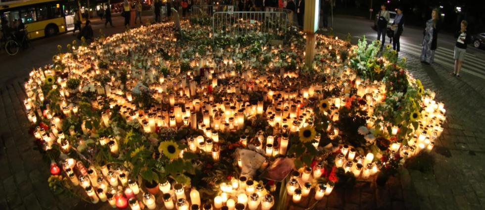 Salutorget i Åbo den 21 augusti