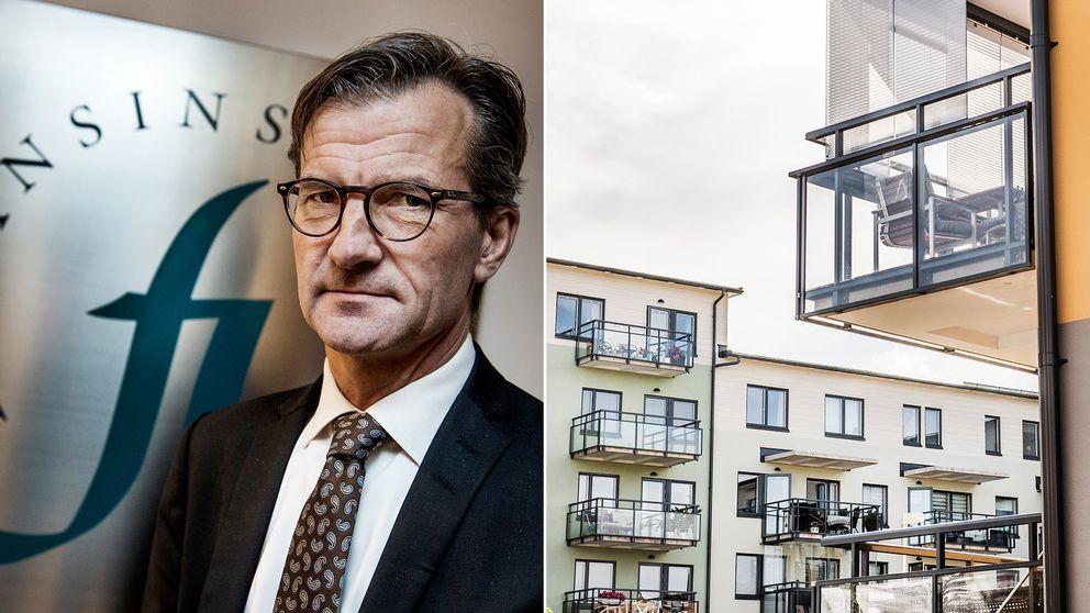 Finansinspektionens chef Erik Thedéen