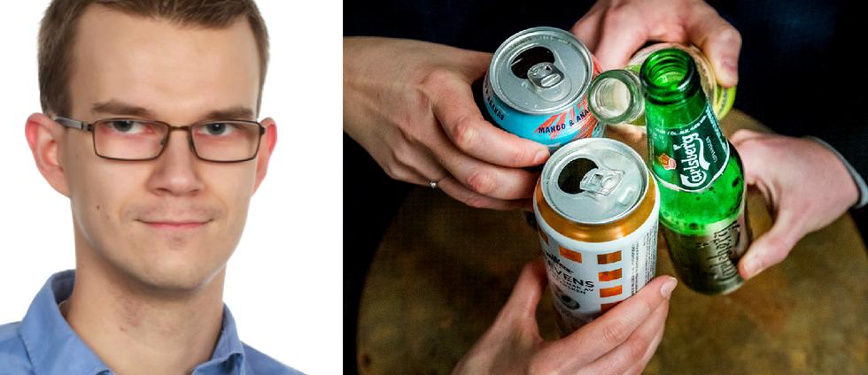 Finländare dricker mer än statistiken visar, enligt ny forskning