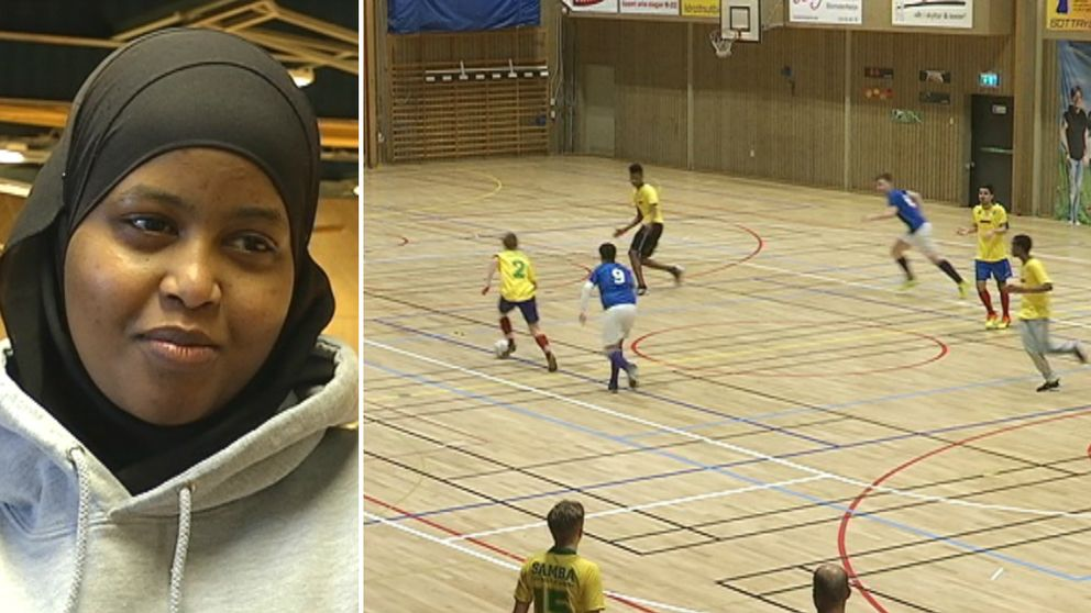Närmare tusen högstadieelever från 74 skolor deltar just nu i fotbollsturneringen AG Cup i Angered. Det är tioende året i rad som elever på Angeredsgymnasiet arrangerar cupen.