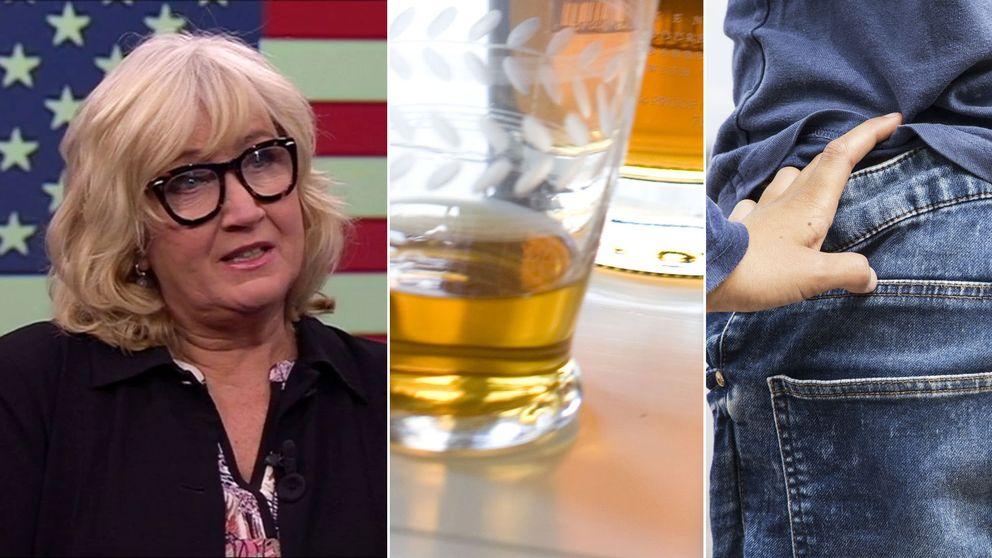 Erika Bjerström, bourbon och blåjeans