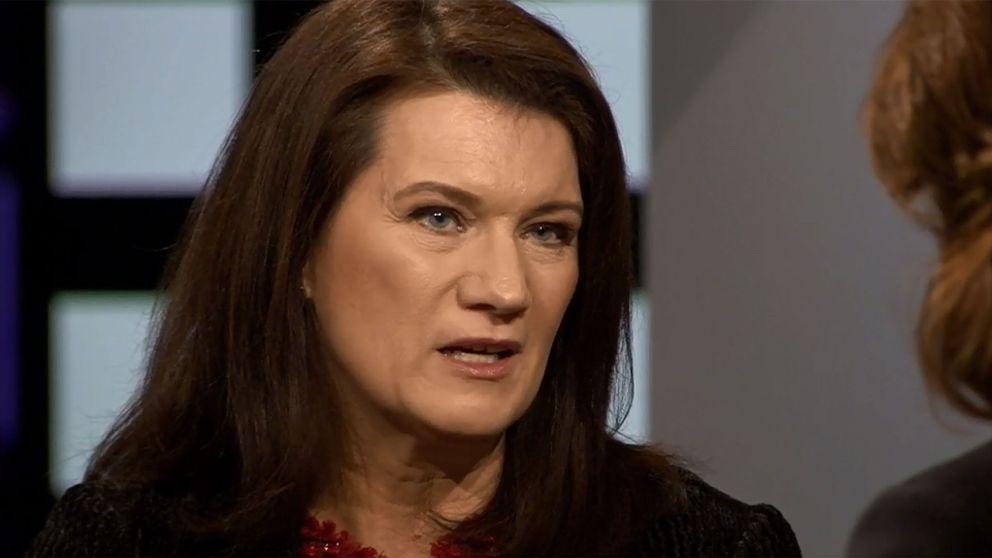 Handelsminister Ann Linde.