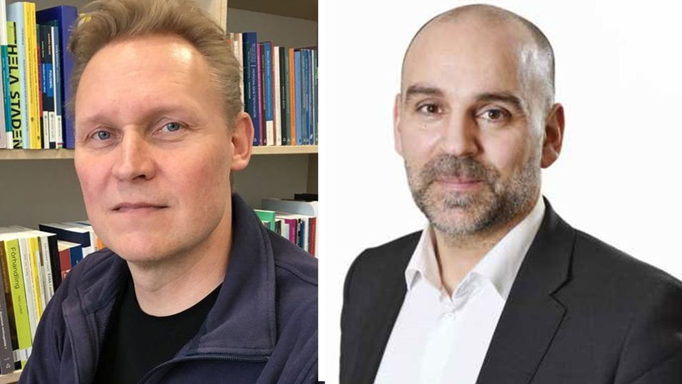 Ola Kronkvist, chef på polisutbildningen i Växjö och Stefan Wehlin, gruppchef HR kompetens inom polismyndigheten är oeniga om antagningskravens svårighetsgrad.