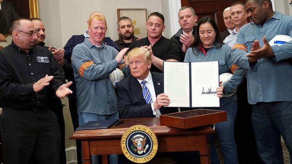 USA:s president Donald Trump inför nya tullar på stål och aluminium.