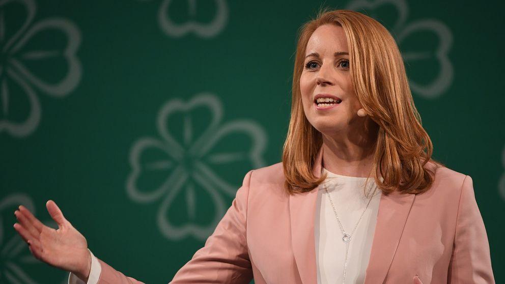 C-ledaren Annie Lööf på partiets kommundagar 2018.