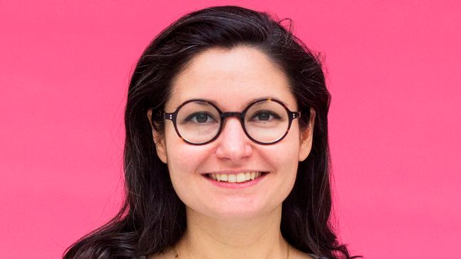 Fi-ledaren Gita Nabavi.