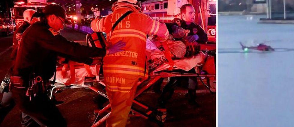 Fem döda i helikopterolycka i New York