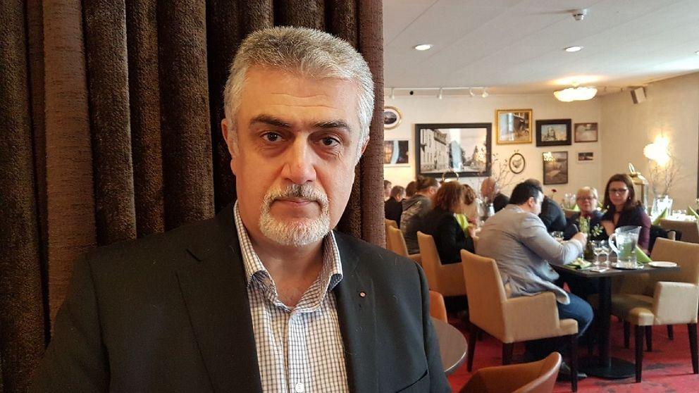 Ali Moeeni (S), ordförande i stadsdelsnämnden i Angered