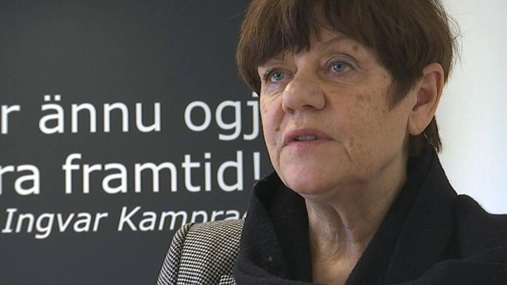 Lena Fritzén, verkställande ledamot i Familjen Kamprads stiftelse.