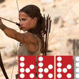 Nya Lara Croft har pil och båge istället för skjutvapen.
