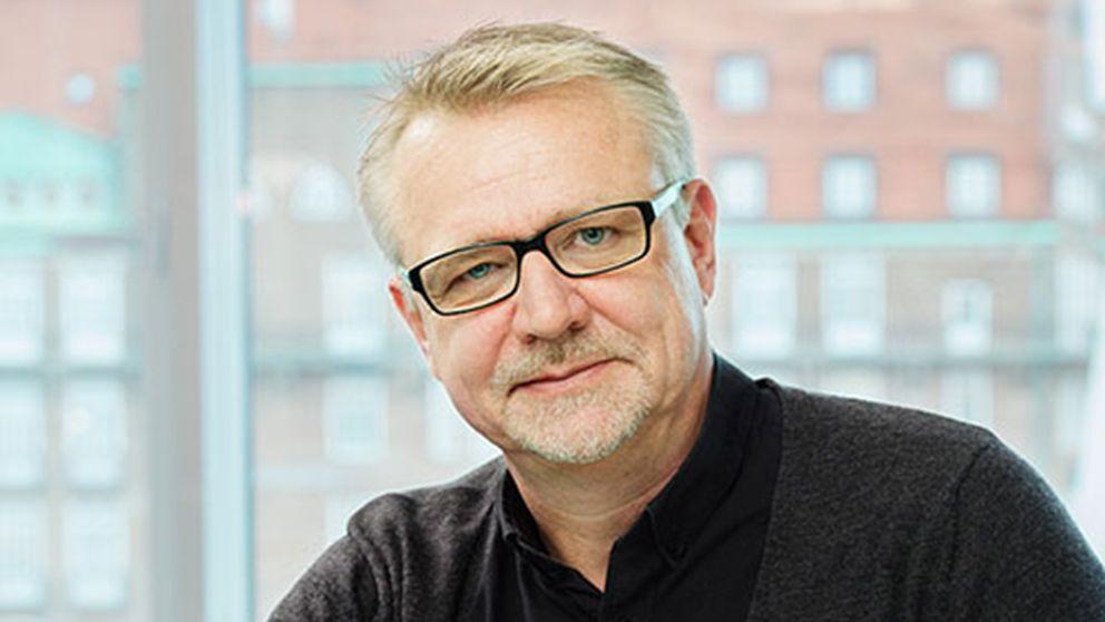 Porträttbild på Aje Carlbom.