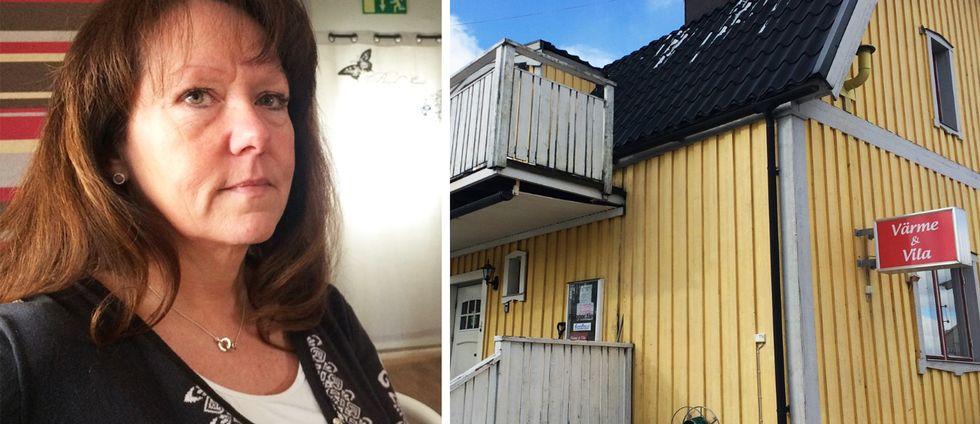 Maria Eriksson är volontär och har varit med sedan starten av härbärget i Kristinehamn för tio år sedan