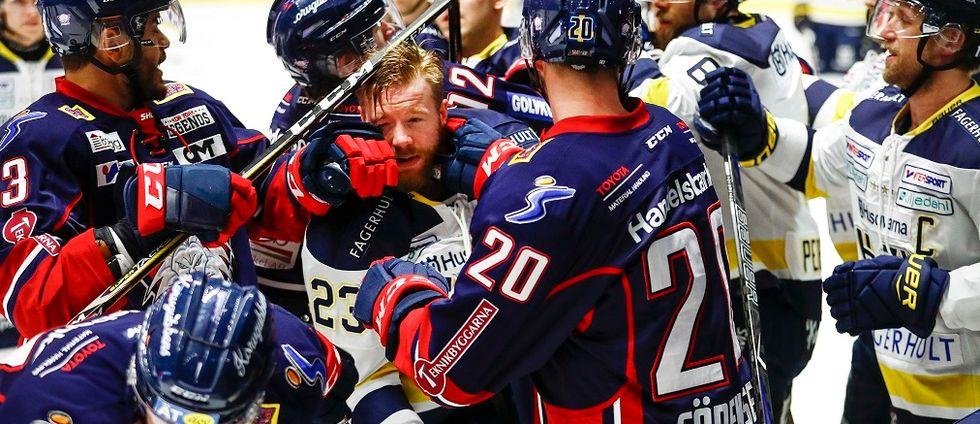 Klara för kvartsfinal, men här kommer ett potentiellt tufft avbräck för Linköpings HC: Sex spelare anmäls till disciplinnämnden och riskerar avstängning.