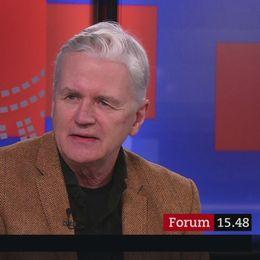 Anders Sundelin är gäst i Politik i bokhyllan.