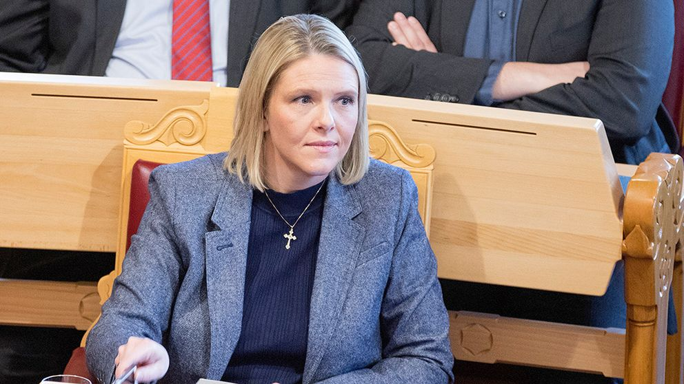 Norges justitieminister avgår