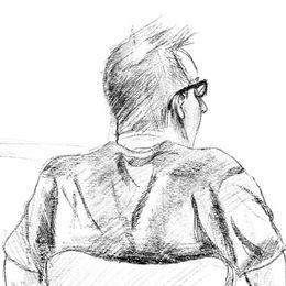 Bild från rättegången.