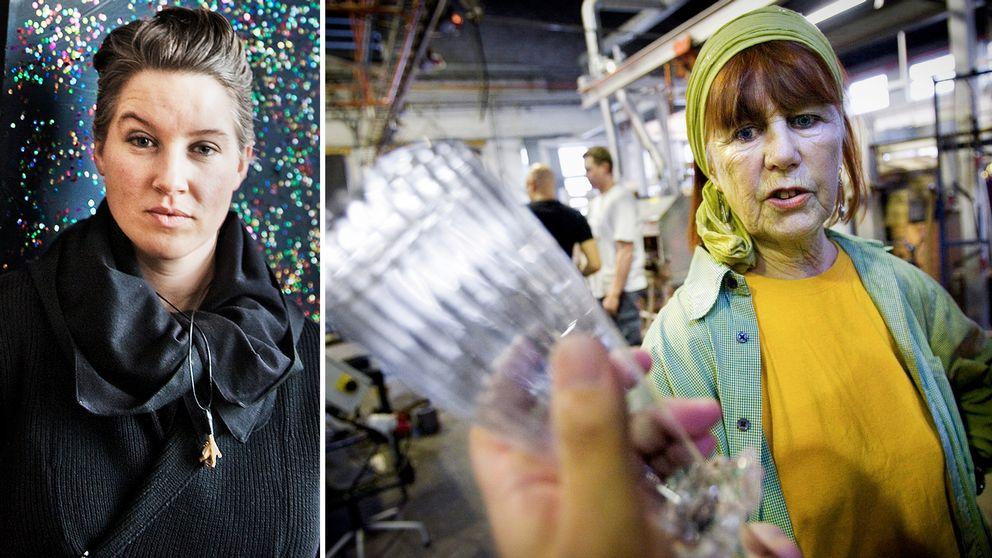 Konstnären och formgivaren Åsa Jungnelius minns kollegan Ulrica Hydman som en varm och uppriktig konstnär.