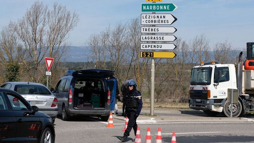 Två döda vid gisslandrama i Frankrike