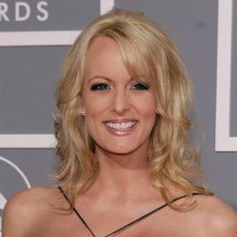Ex-porrfilmsstjärnan Stephanie Clifford och USA:s president Donald Trump.