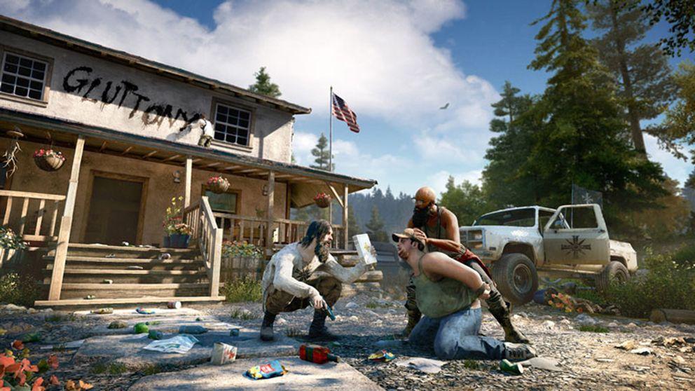 En kristen extremistmilis sätter skräck i Montanas invånare i Far Cry 5.