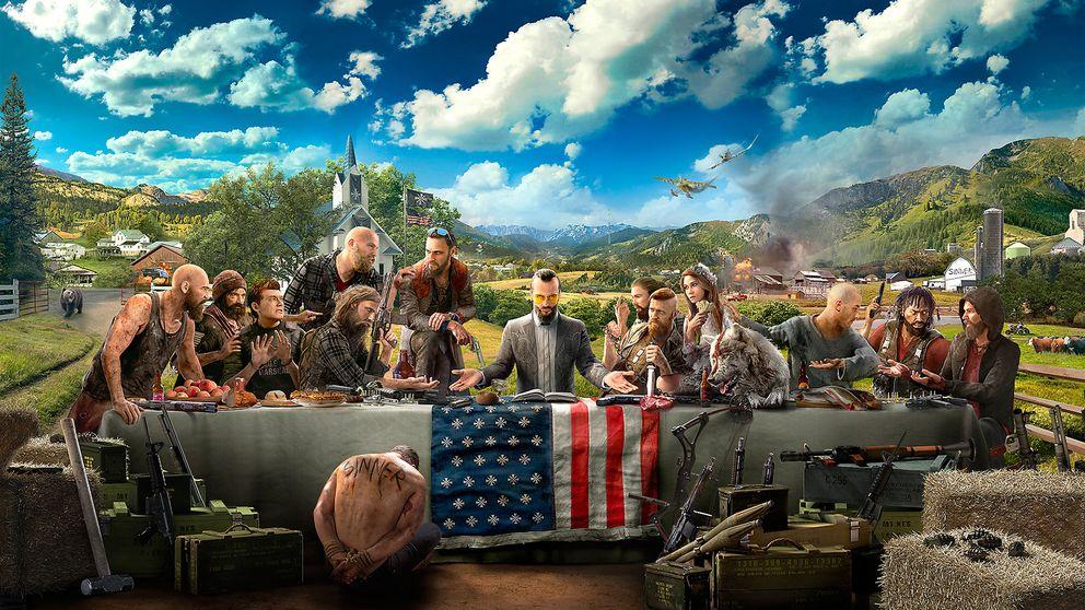 Den karismatiske sektledaren fader Joseph Seed försöker inleda en väpnad revolution i Far Cry 5.