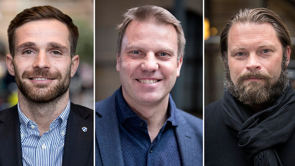 Igor krulj, Hans Eklund, Joakim Persson
